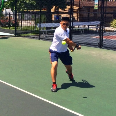 Philip P. teaches tennis lessons in Carlstadt, NJ