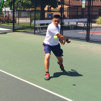 Philip P. teaches tennis lessons in Secaucus, NJ