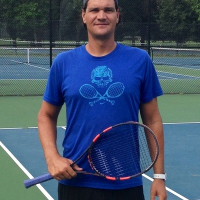 Bobby K. teaches tennis lessons in Parkland, FL