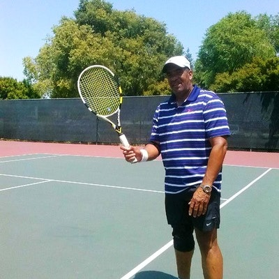 Daryl C. teaches tennis lessons in San Mateo, CA