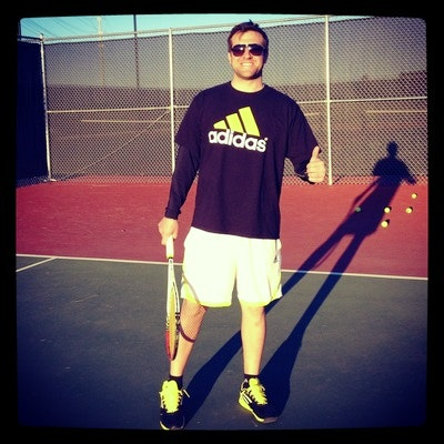 Adrin H. teaches tennis lessons in Las Vegas , NV