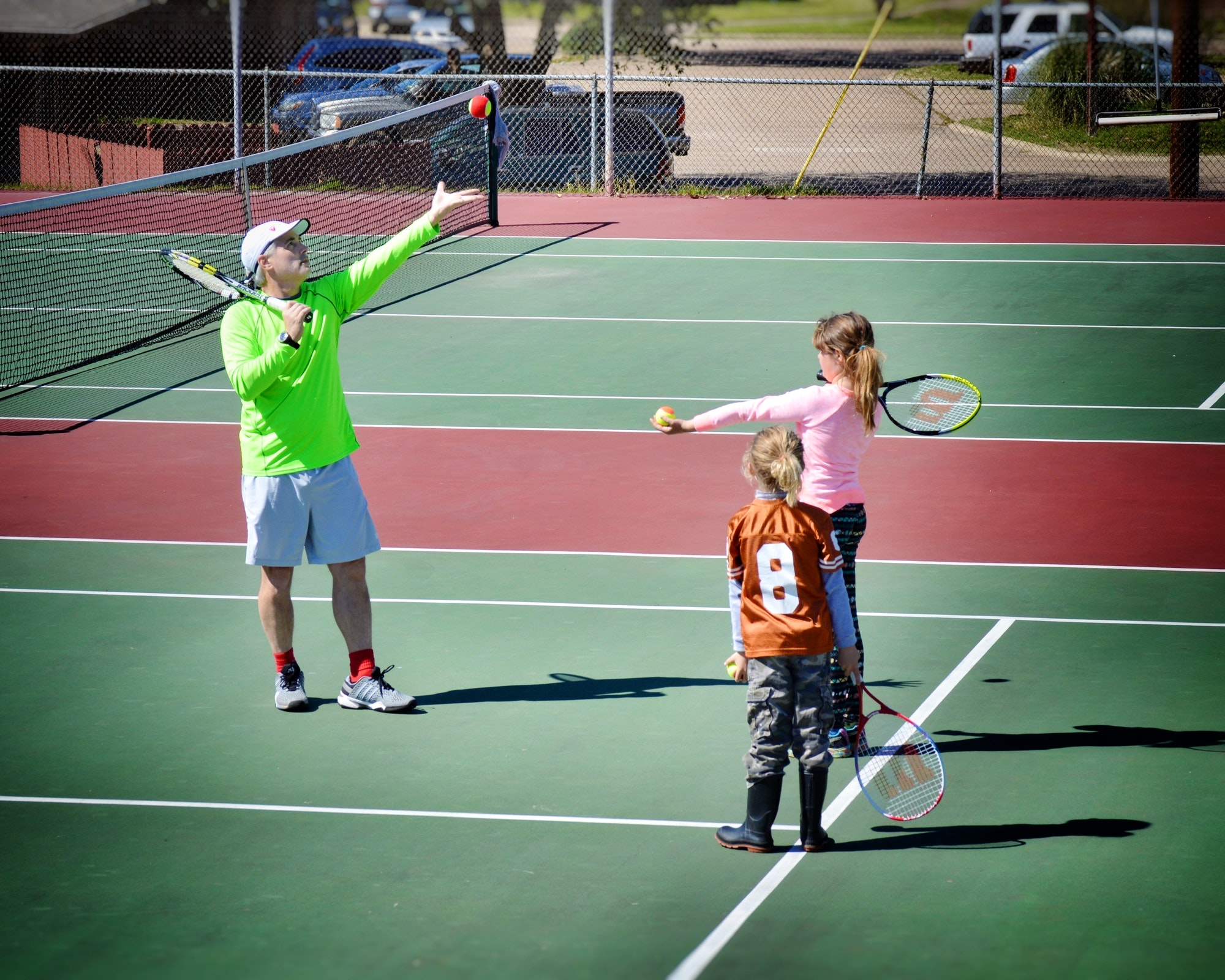 Jeffery H. teaches tennis lessons in Mineola , TX