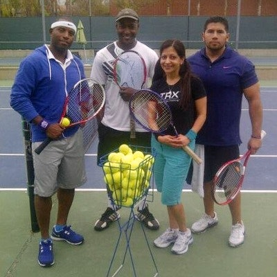 Rashad G. teaches tennis lessons in Burbank, CA