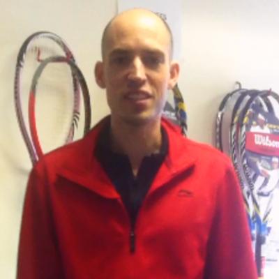 Joe K. teaches tennis lessons in Hershey, PA