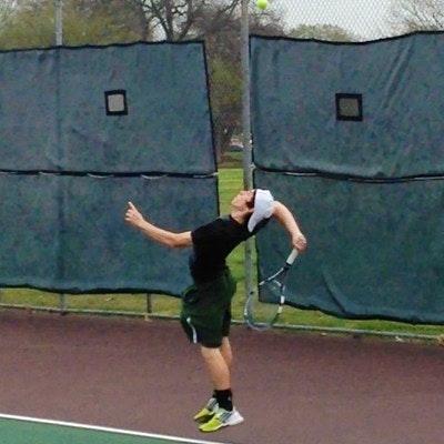 Elijah C. teaches tennis lessons in Waxahachie, TX