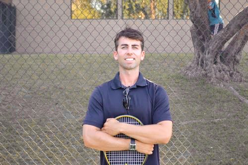 Sean R. teaches tennis lessons in Scottsdale, AZ