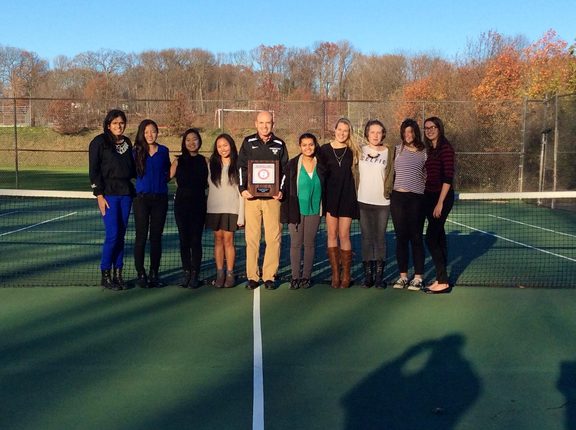 David B. teaches tennis lessons in Cranford, NJ