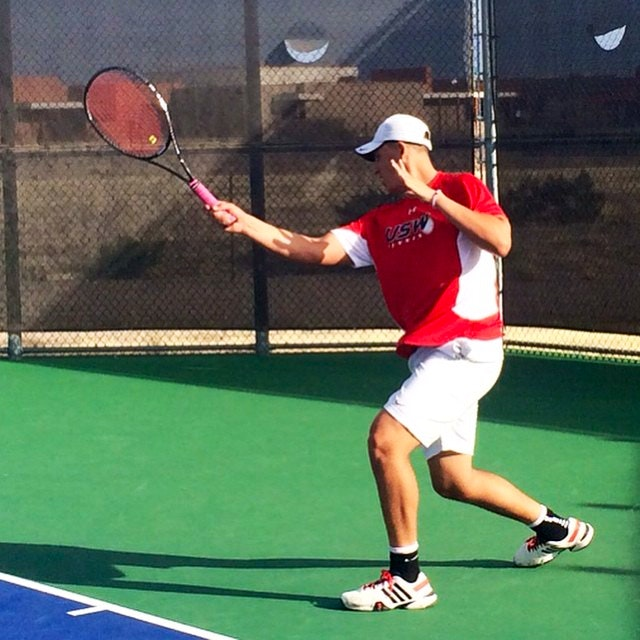 Alberto H. teaches tennis lessons in Richardson , TX