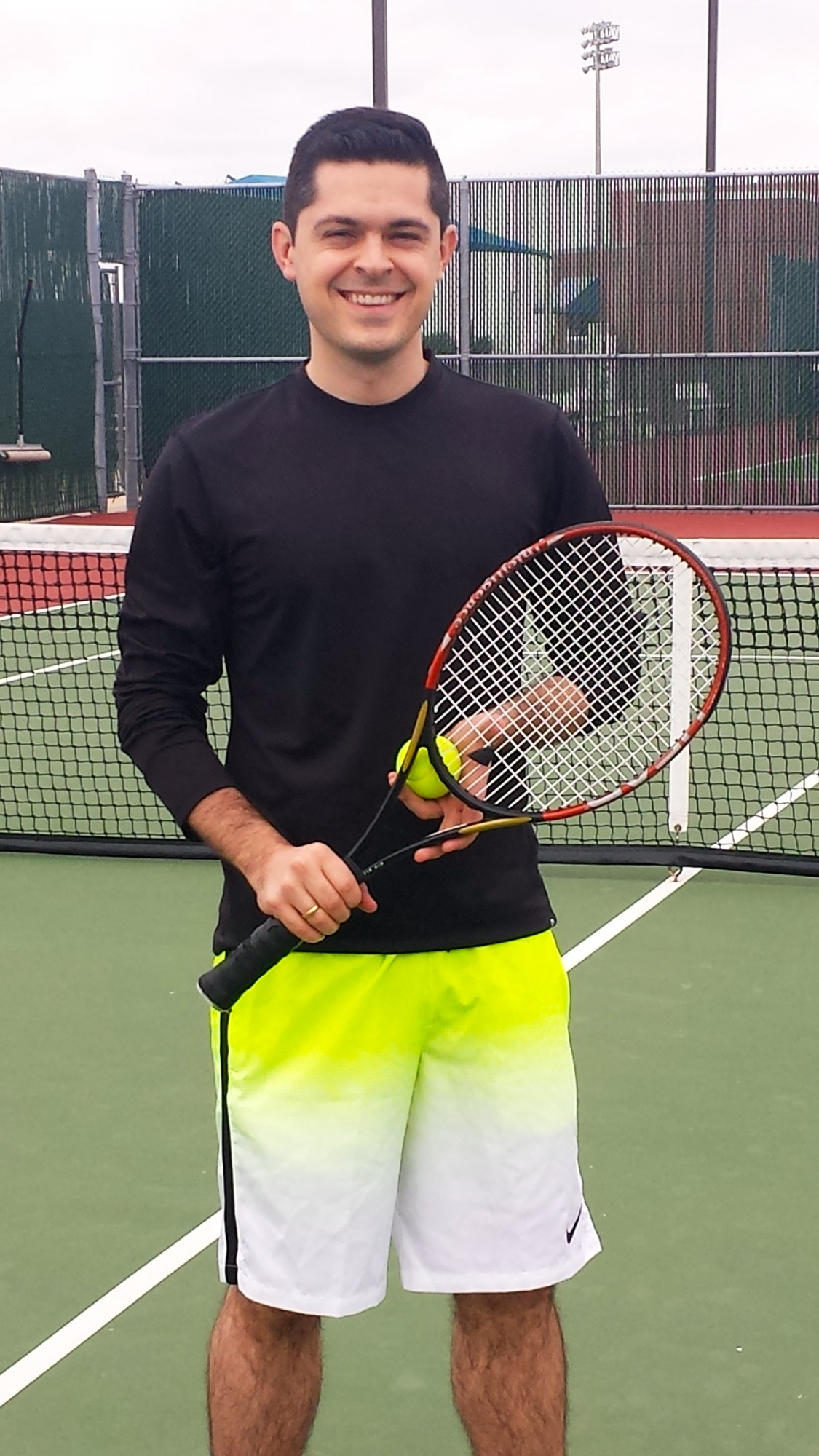 Andres F. teaches tennis lessons in Plano, TX