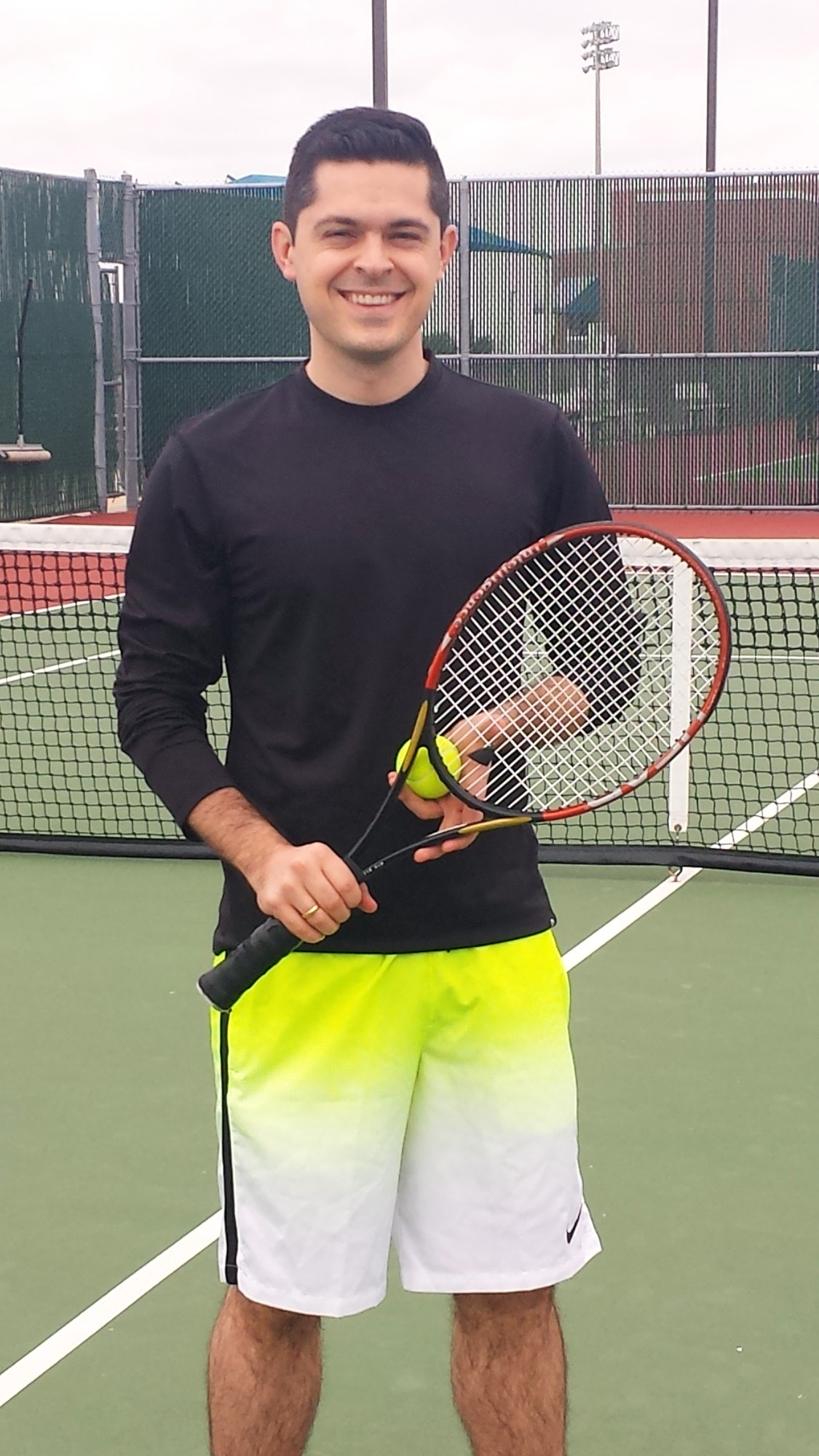Take professional lessons with Tennis Coach Greg F. in