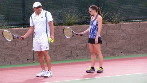Robert B. teaches tennis lessons in Henderson, NV
