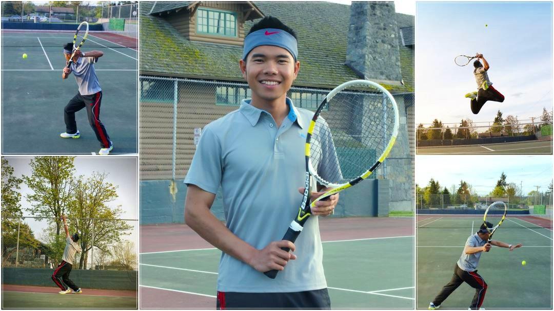 Viet T. teaches tennis lessons in Seatac, WA