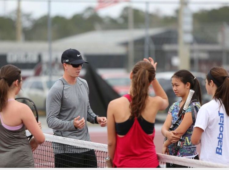 Owen L. teaches tennis lessons in Tallahassee, FL