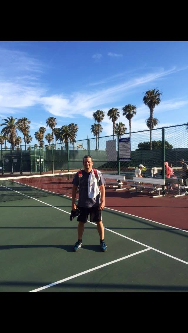 Mark P. teaches tennis lessons in Suisun City, CA
