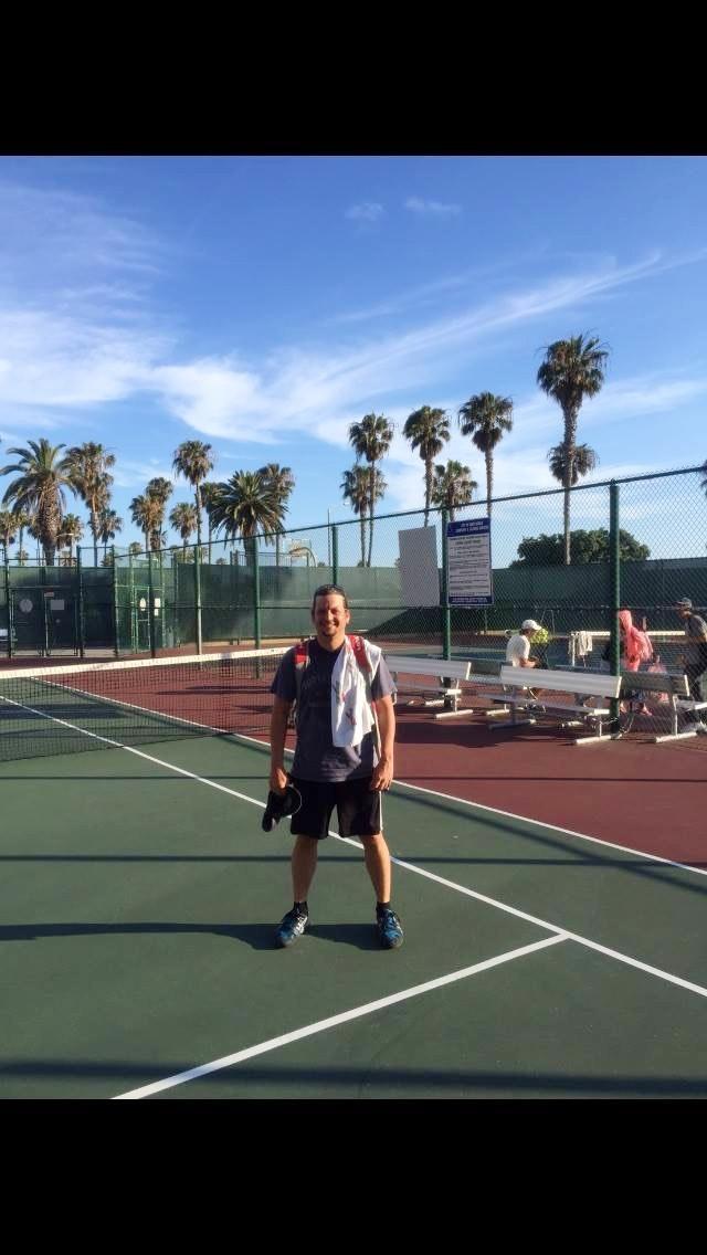 Mark P. teaches tennis lessons in Suisun City, CA