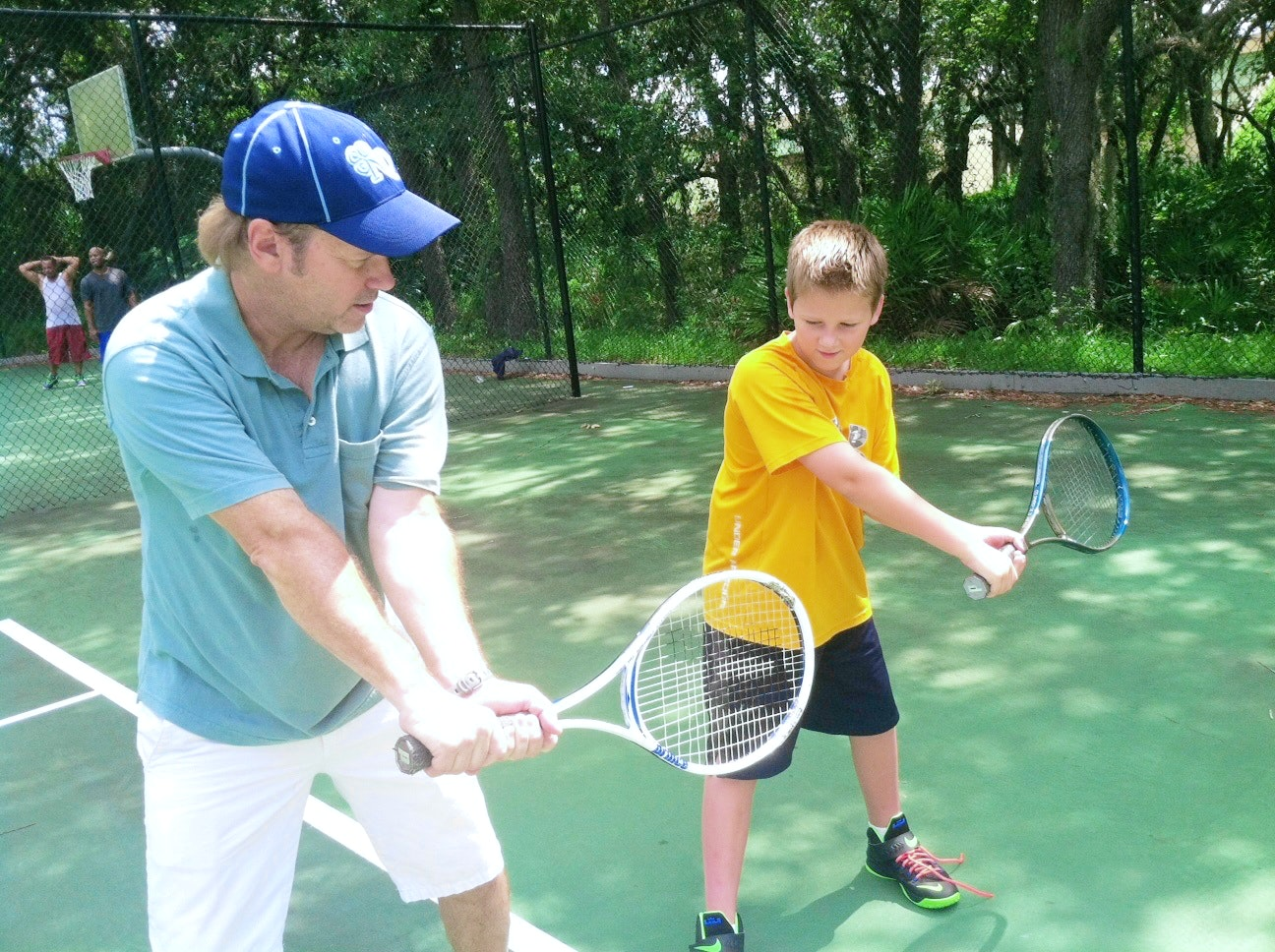Tom O. teaches tennis lessons in Celebration, FL