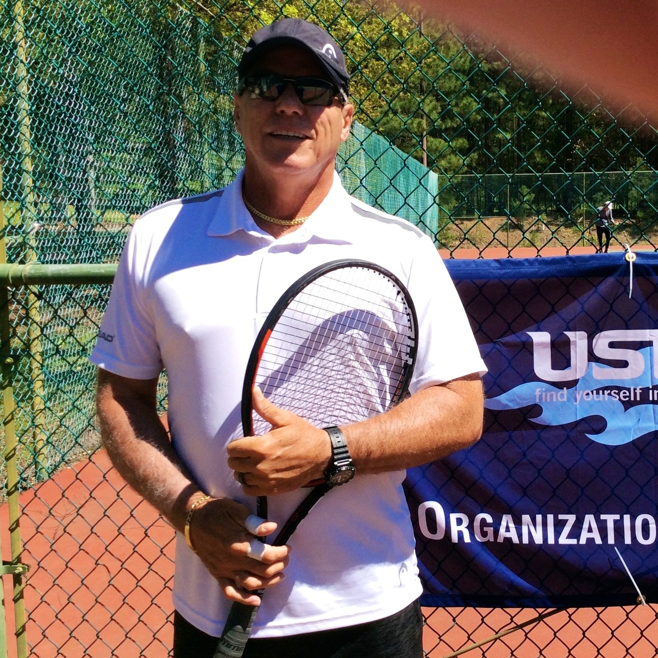 Juan C. teaches tennis lessons in Mooresville, NC