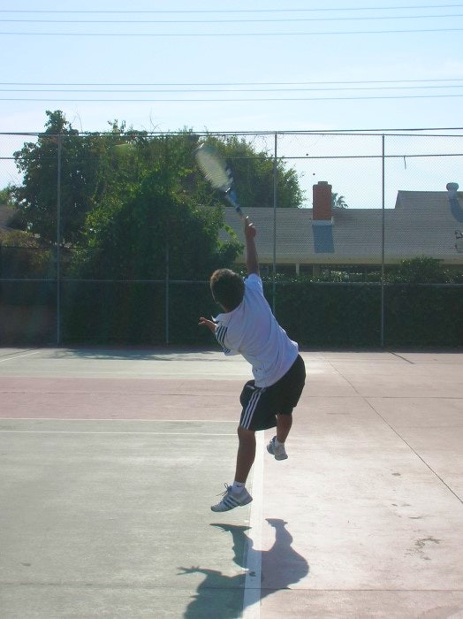 Christopher L. teaches tennis lessons in Santa Ana, CA