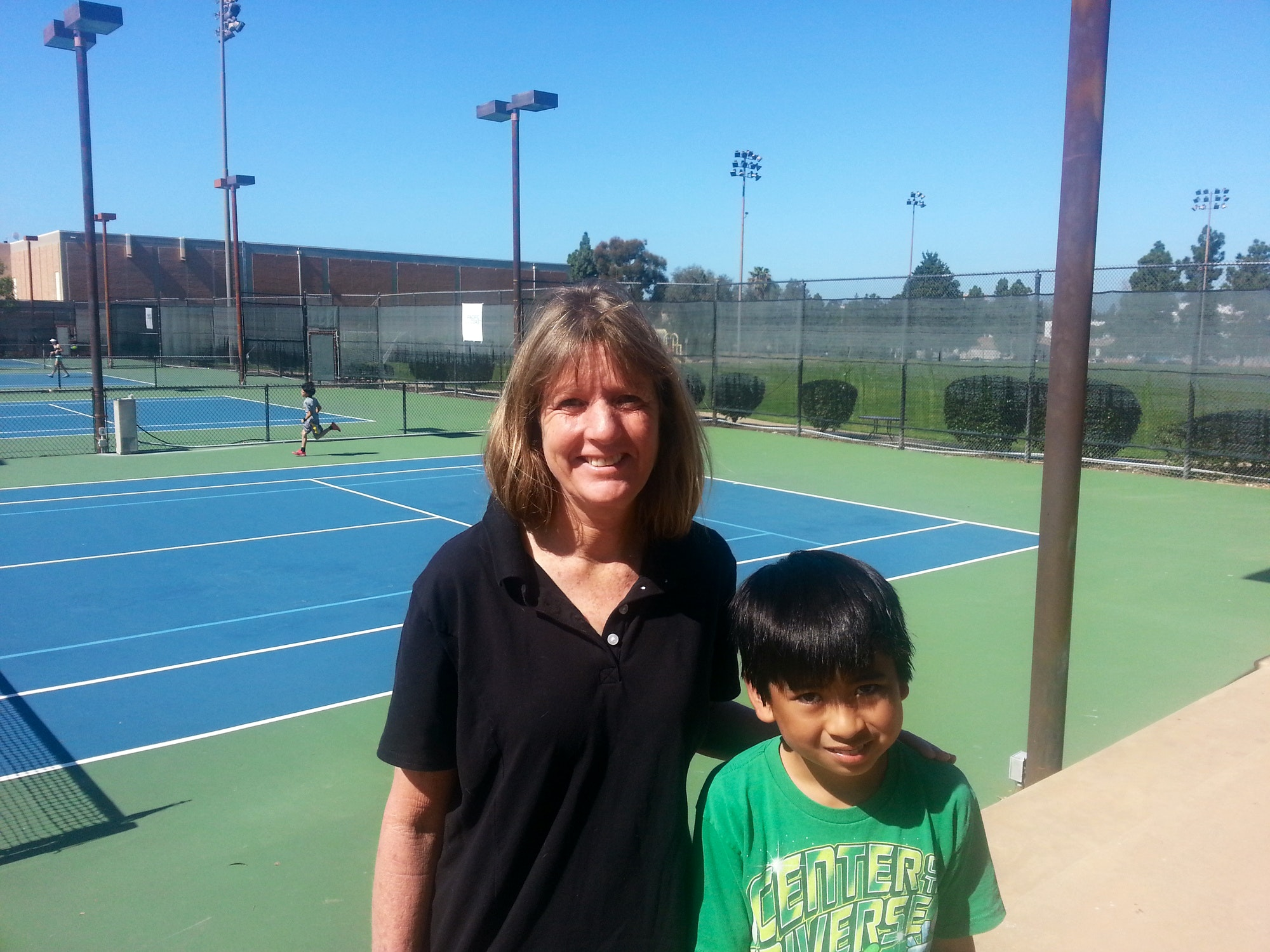 Jackie S. teaches tennis lessons in San Marcos , CA