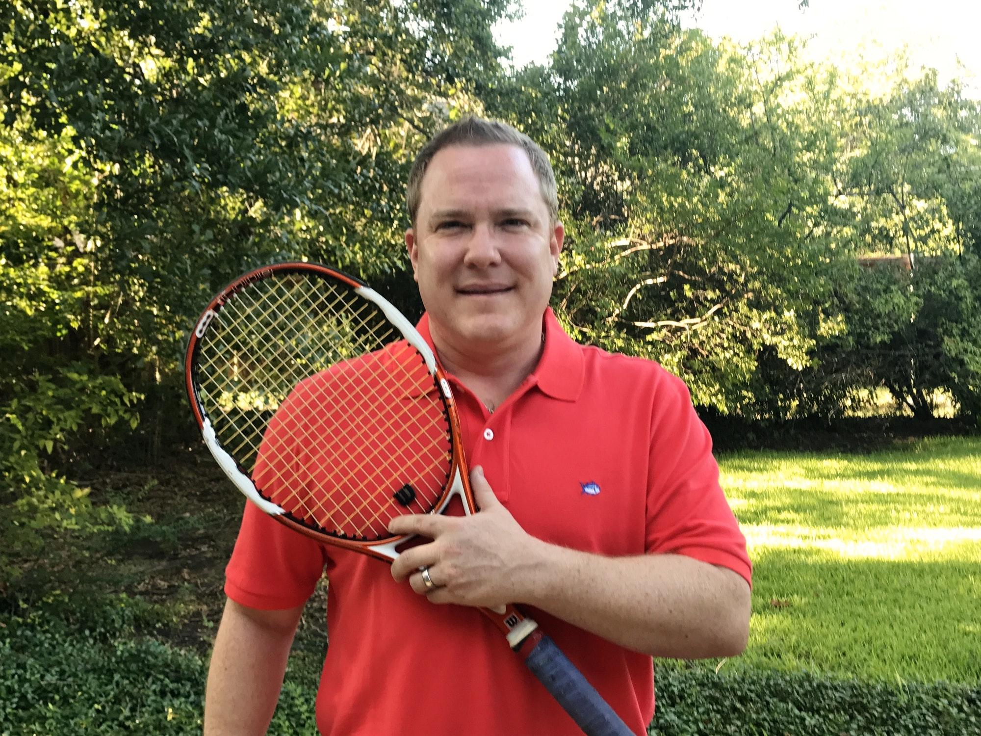 Will H. teaches tennis lessons in Dallas, TX
