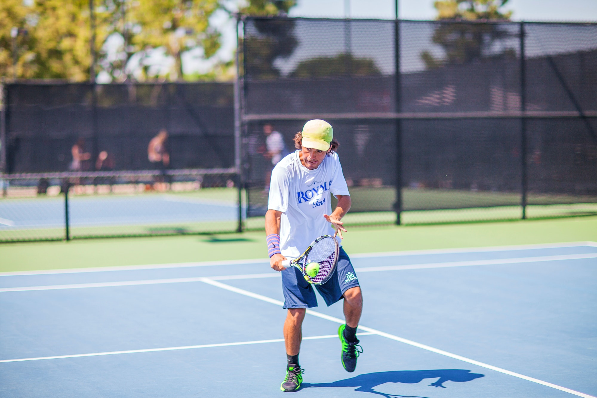 Mauricio M. teaches tennis lessons in Fullerton, CA