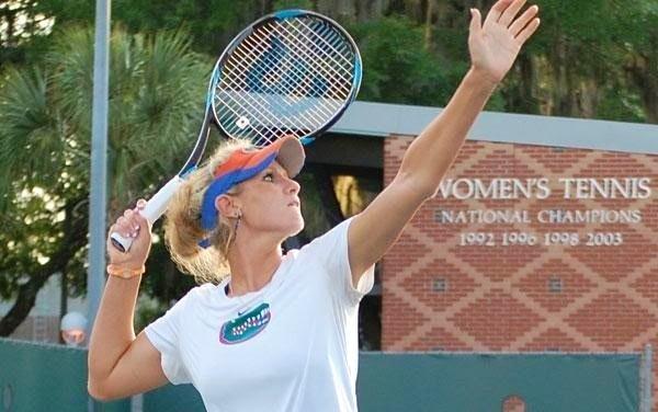 Allie M. teaches tennis lessons in Fairfield, CA