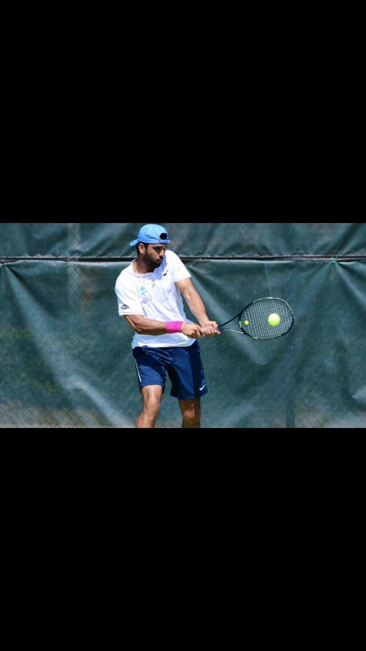Anudeep K. teaches tennis lessons in Durham, NC