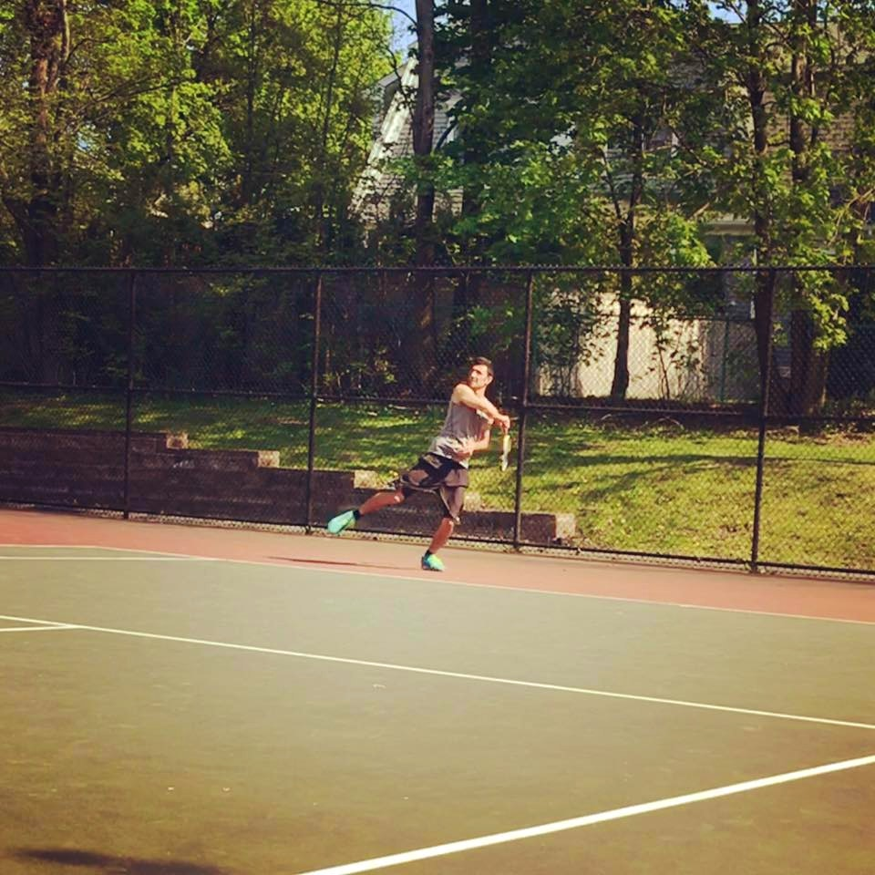 Roland O. teaches tennis lessons in Watertown, MA