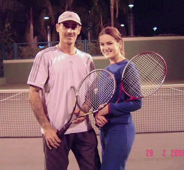 Manhal K. teaches tennis lessons in Rancho Cucamonga, CA