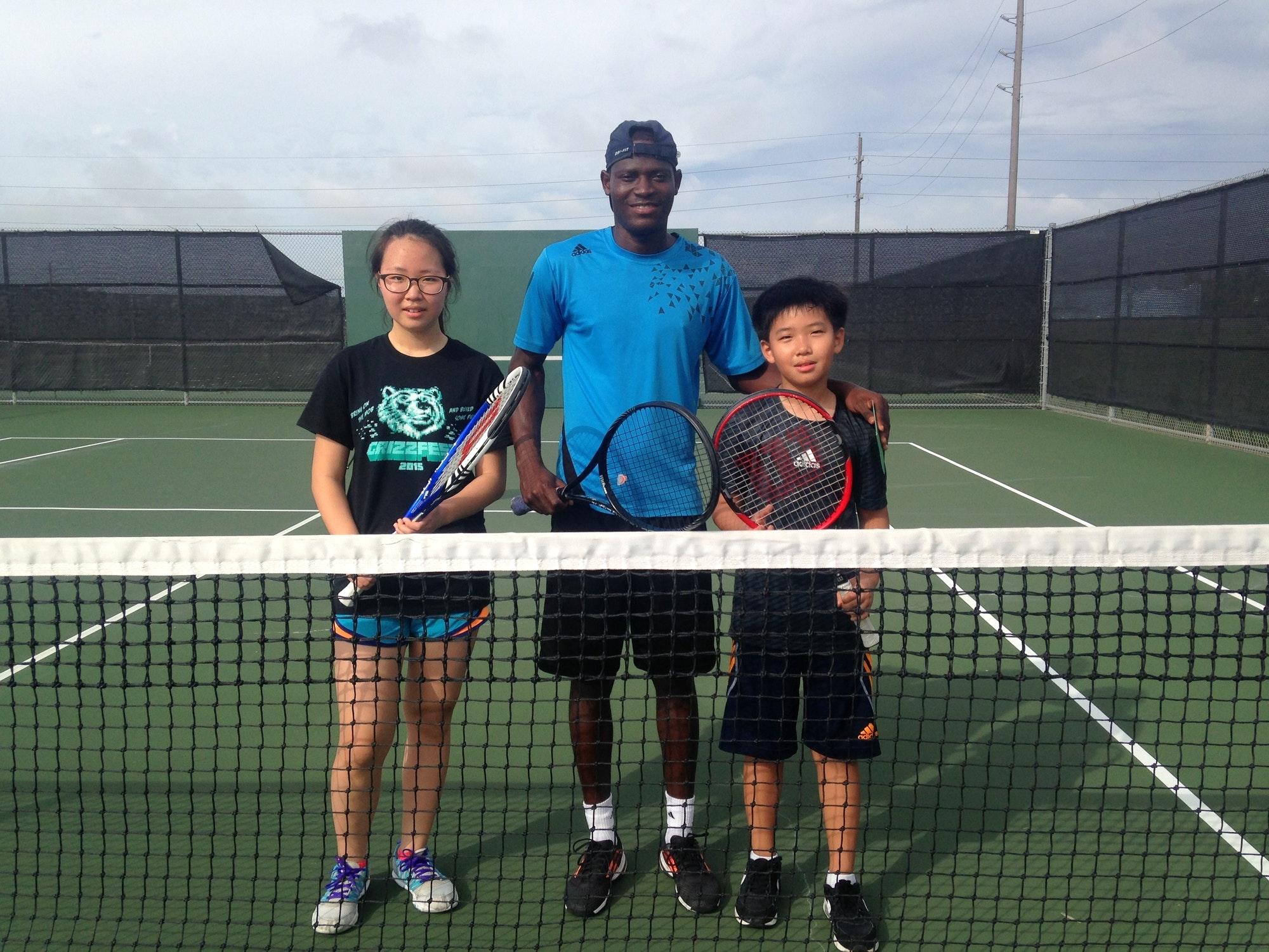 Julius A. teaches tennis lessons in Katy, TX