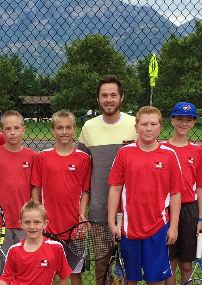 Tanner S. teaches tennis lessons in Lehi, UT