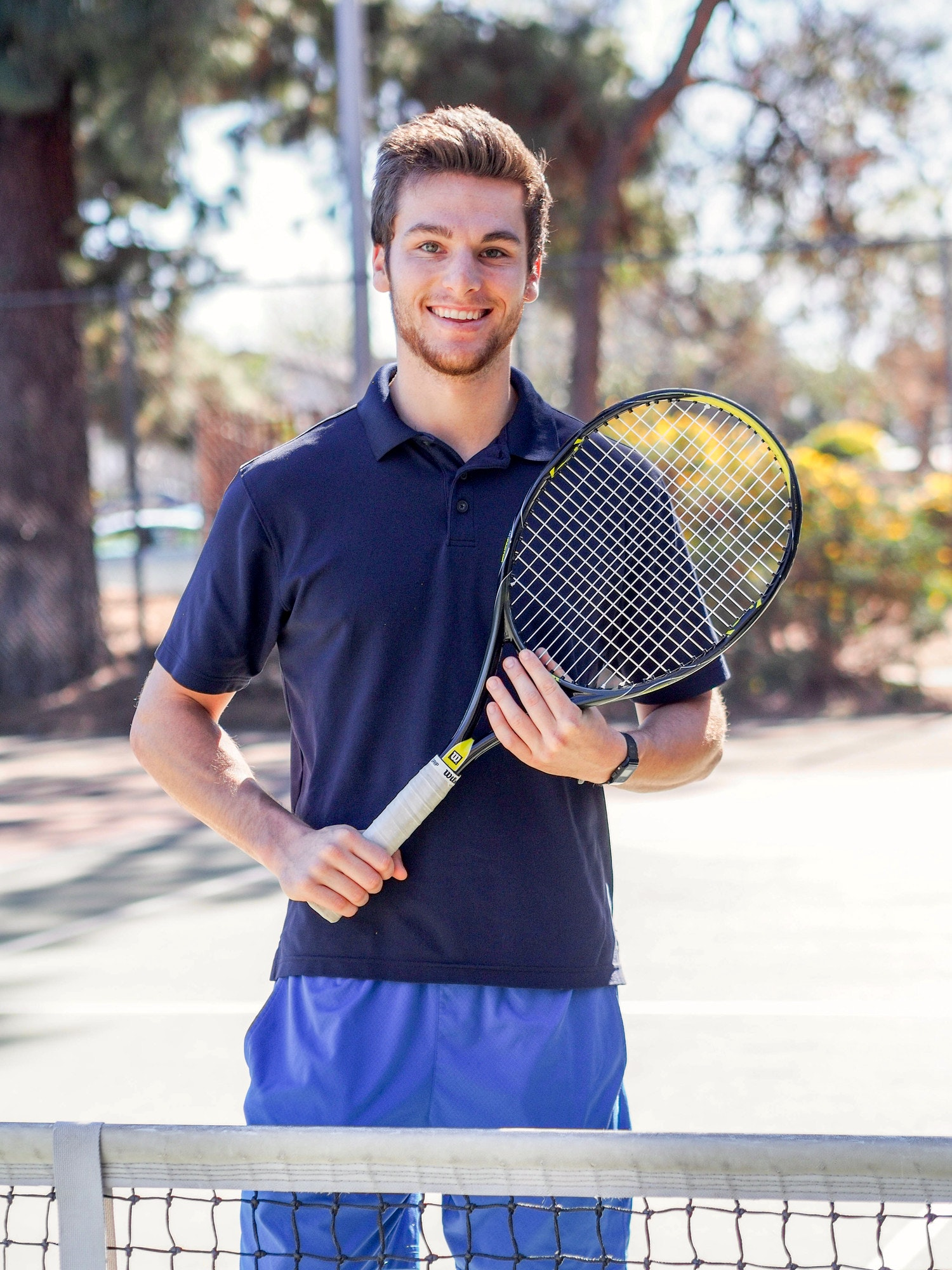 Brandon S. teaches tennis lessons in Granada Hills , CA