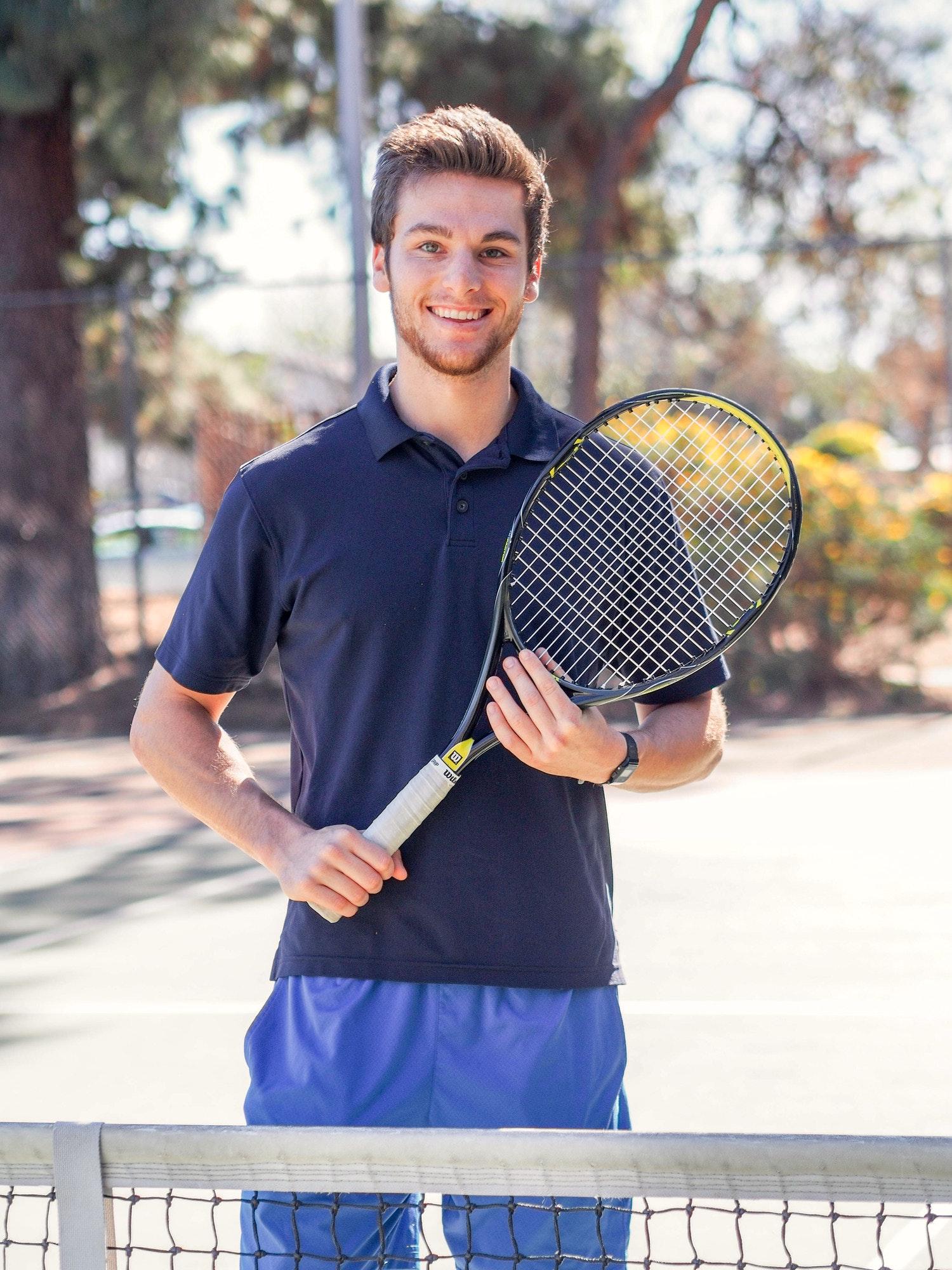 Brandon S. teaches tennis lessons in Granada Hills , CA