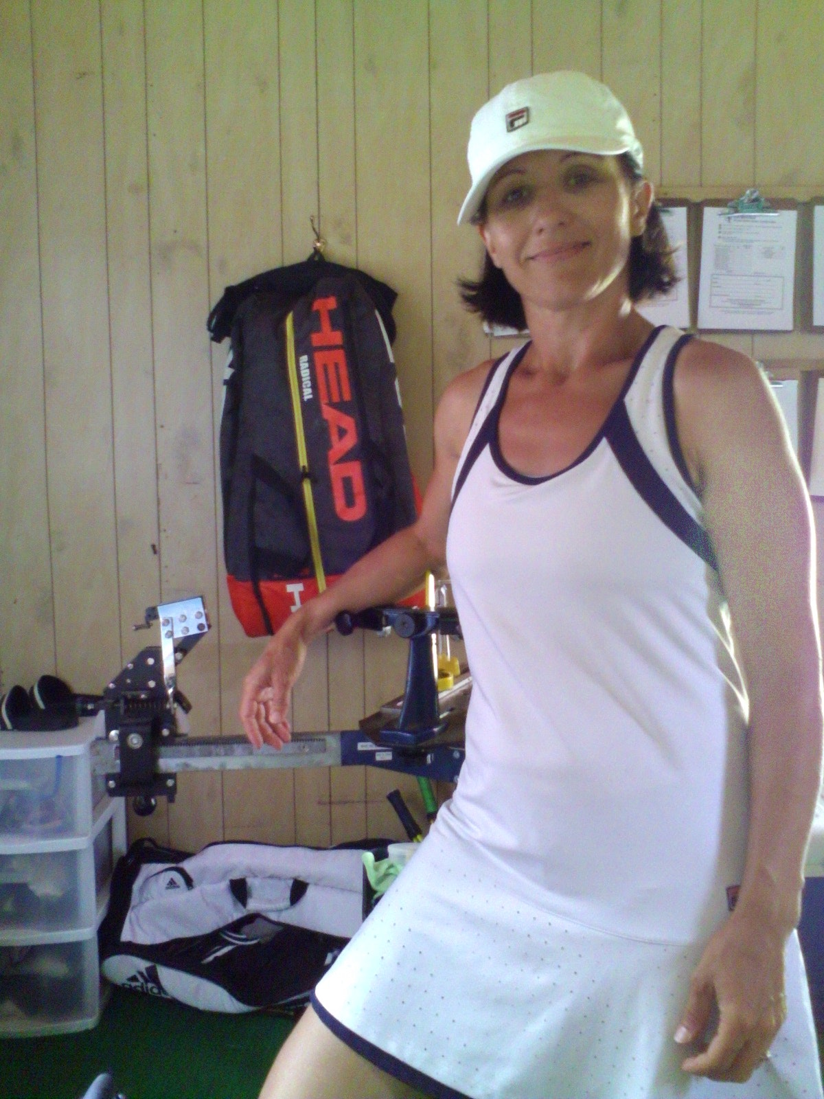 Roxana M. teaches tennis lessons in Hartland, VT