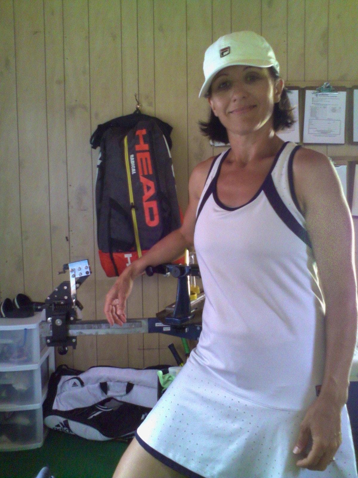 Roxana M. teaches tennis lessons in Hartland, VT