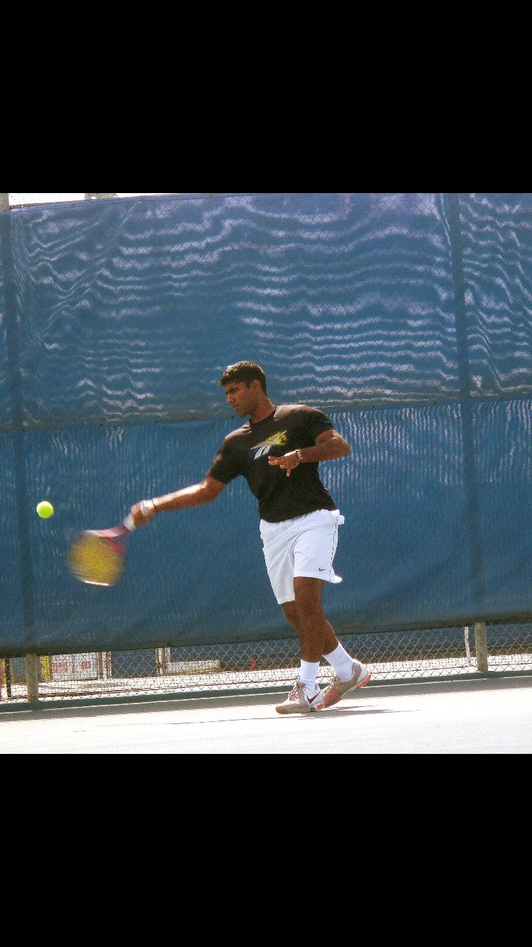 Aswin K. teaches tennis lessons in Pleasanton, CA