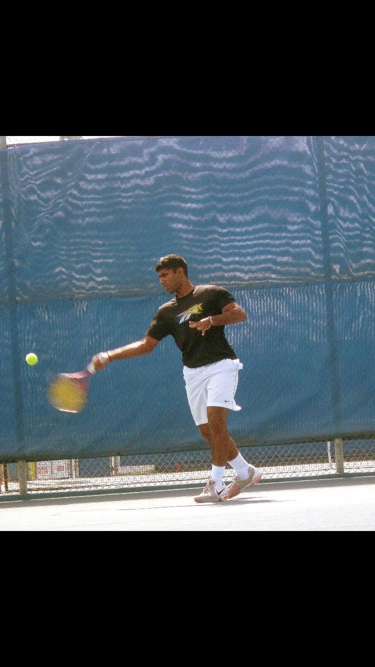 Aswin K. teaches tennis lessons in San Francisco, CA