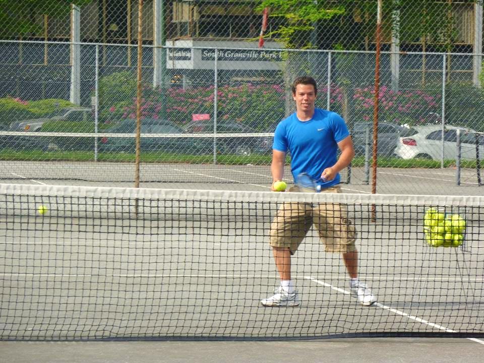 David H. teaches tennis lessons in Chandler, AZ