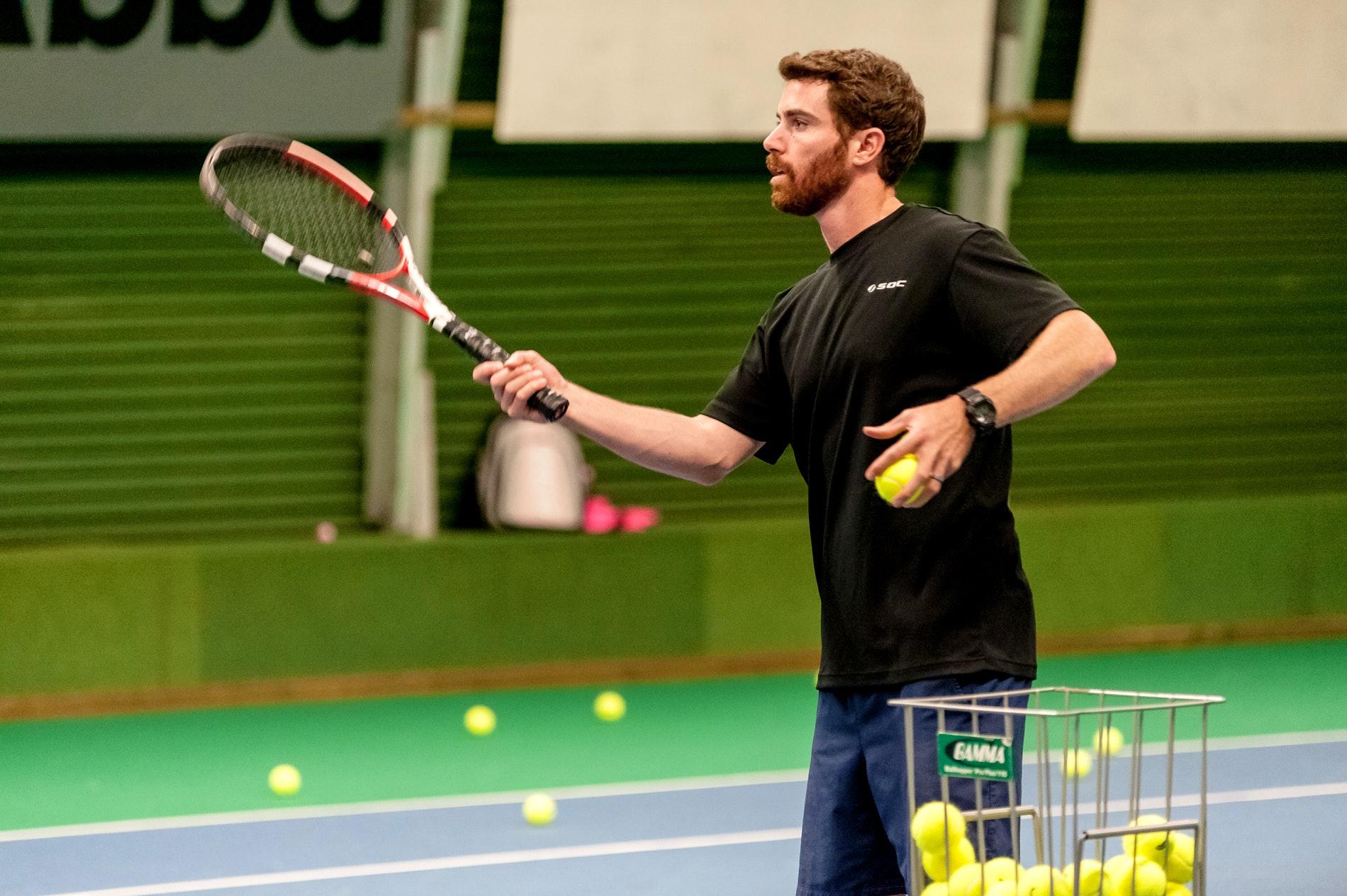 Sean P. teaches tennis lessons in San Francisco, CA