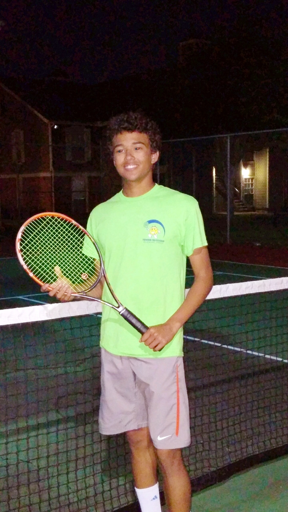 Sebastian C. teaches tennis lessons in Clayton, MO