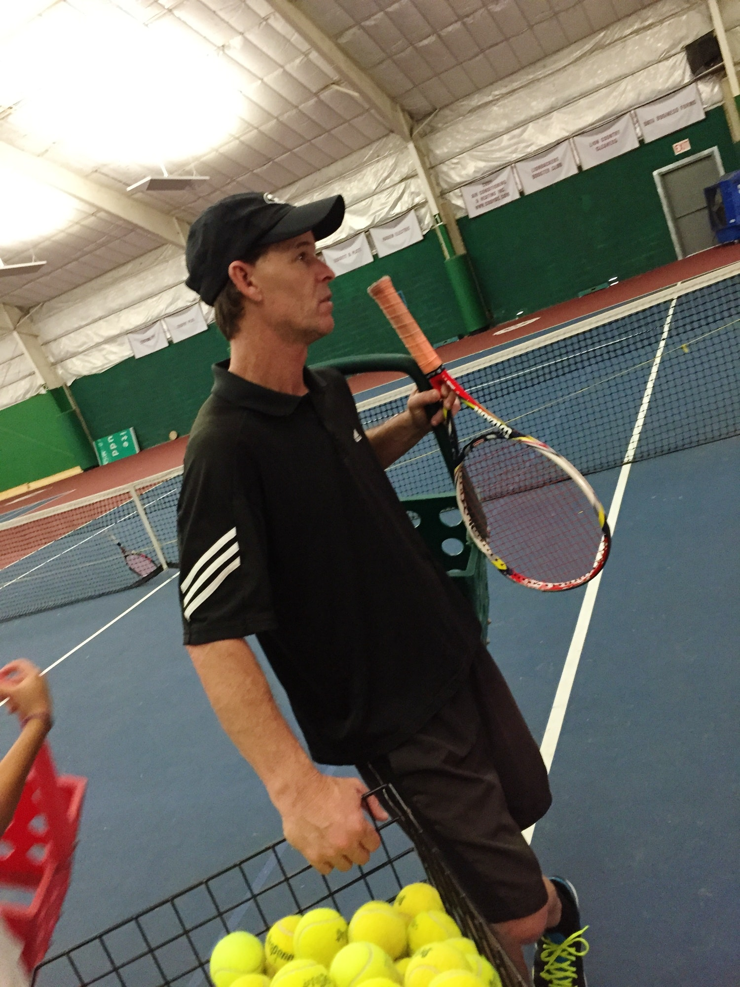 Tom R. teaches tennis lessons in Mansfield, TX