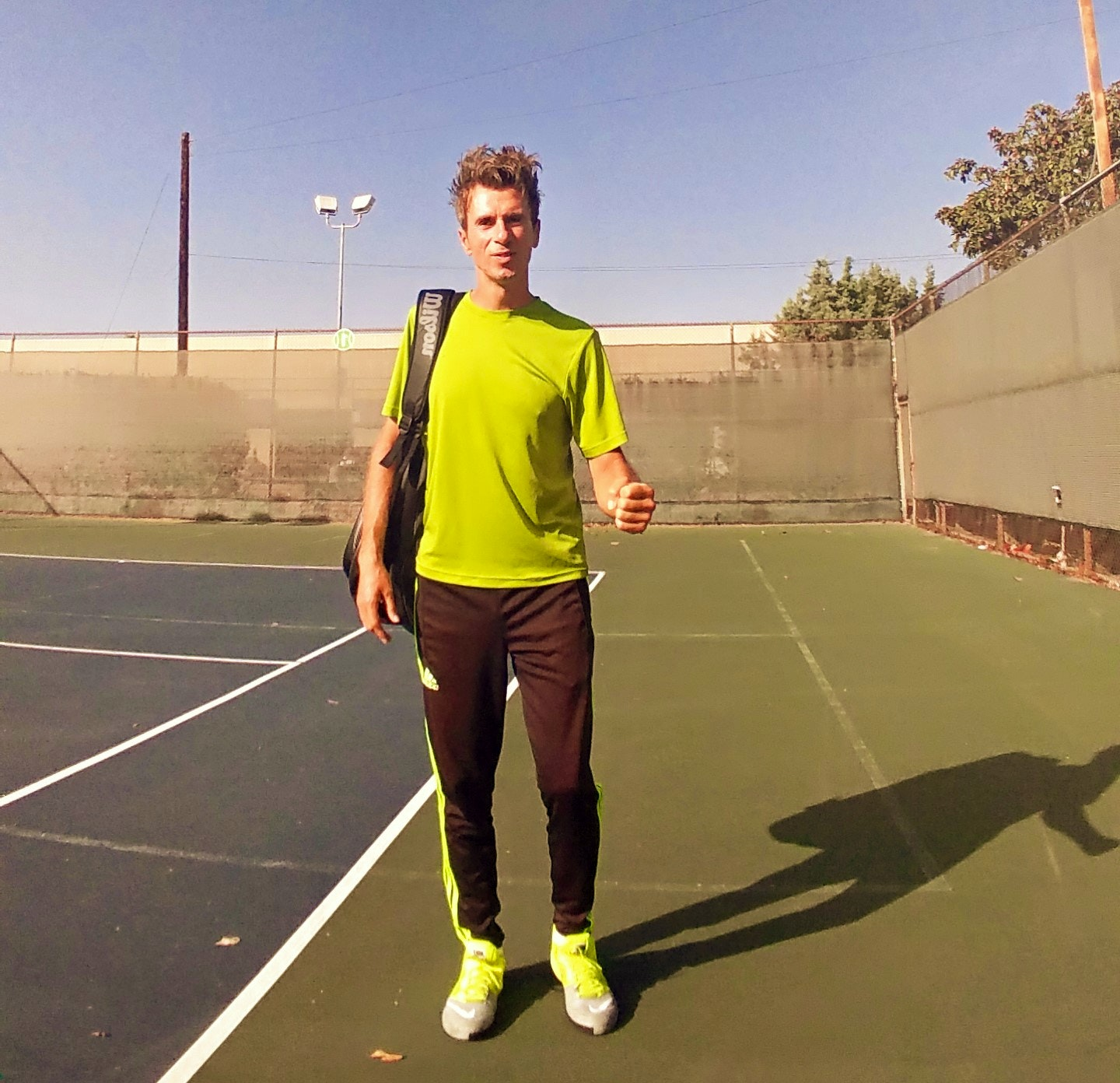 Ilya S. teaches tennis lessons in Los Angeles, CA