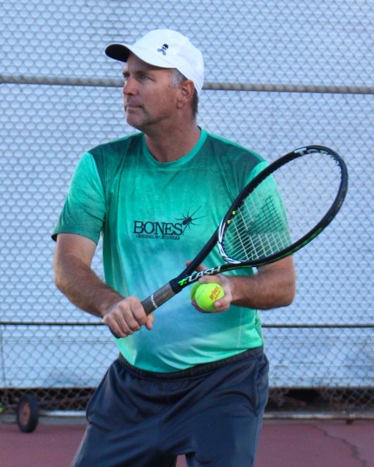 Bill P. teaches tennis lessons in Castro Valley, CA