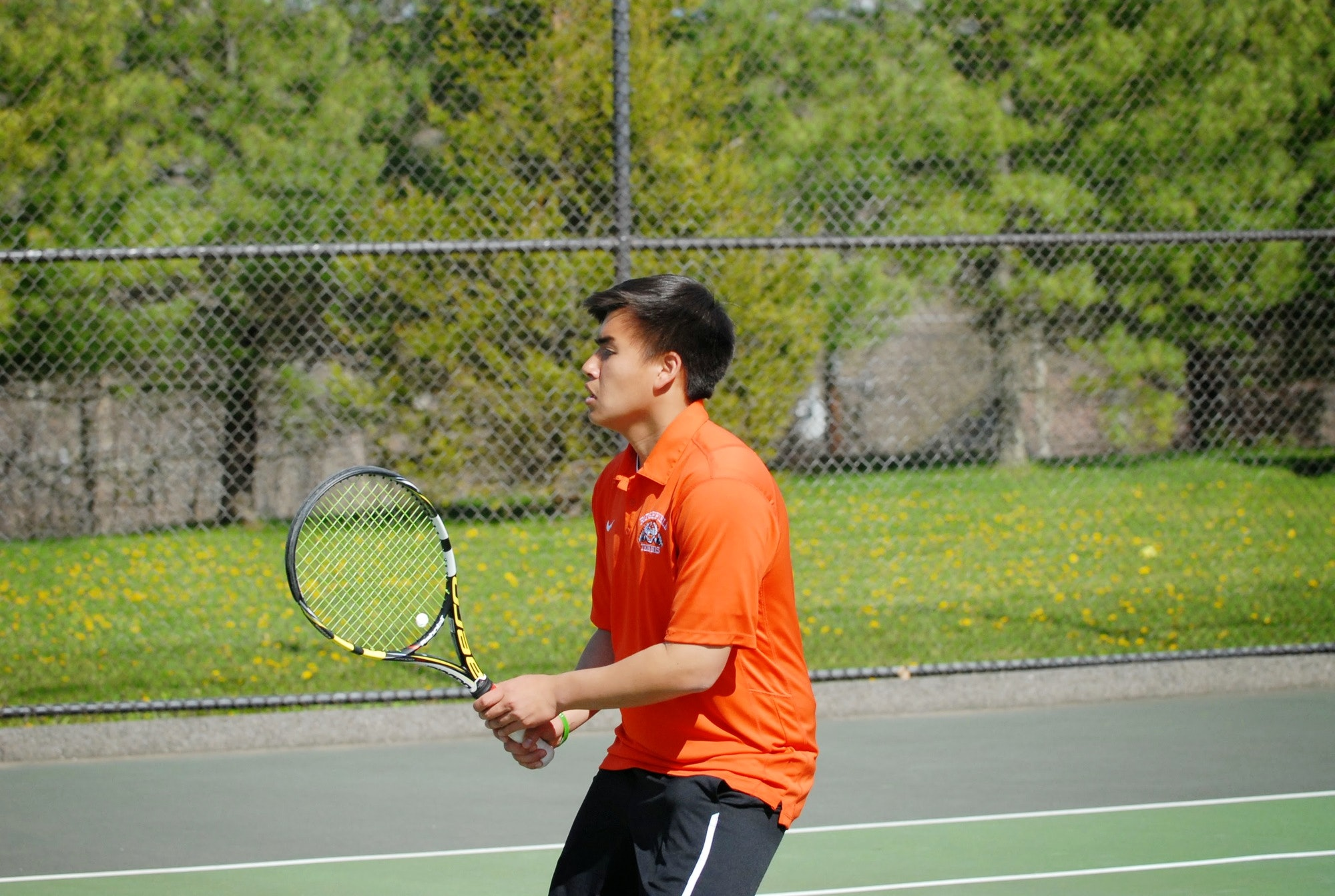Aaron C. teaches tennis lessons in Ridgefield, CT