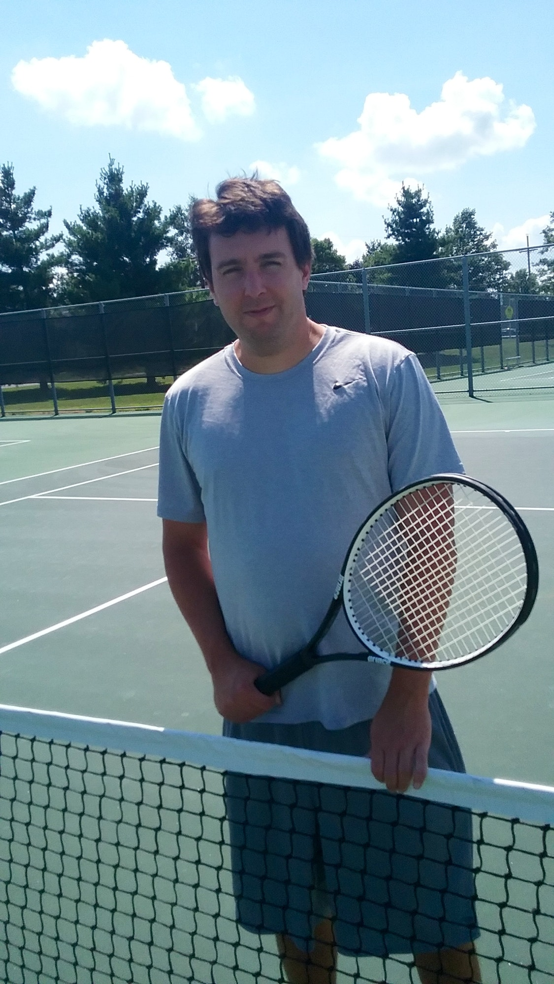 Andrew L. teaches tennis lessons in Kansas City, KS