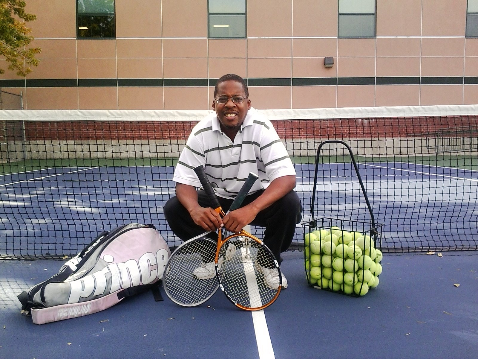Kerry N. teaches tennis lessons in Denver, CO