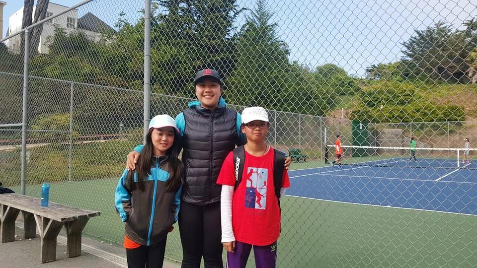 Vivian D. teaches tennis lessons in Laredo, TX