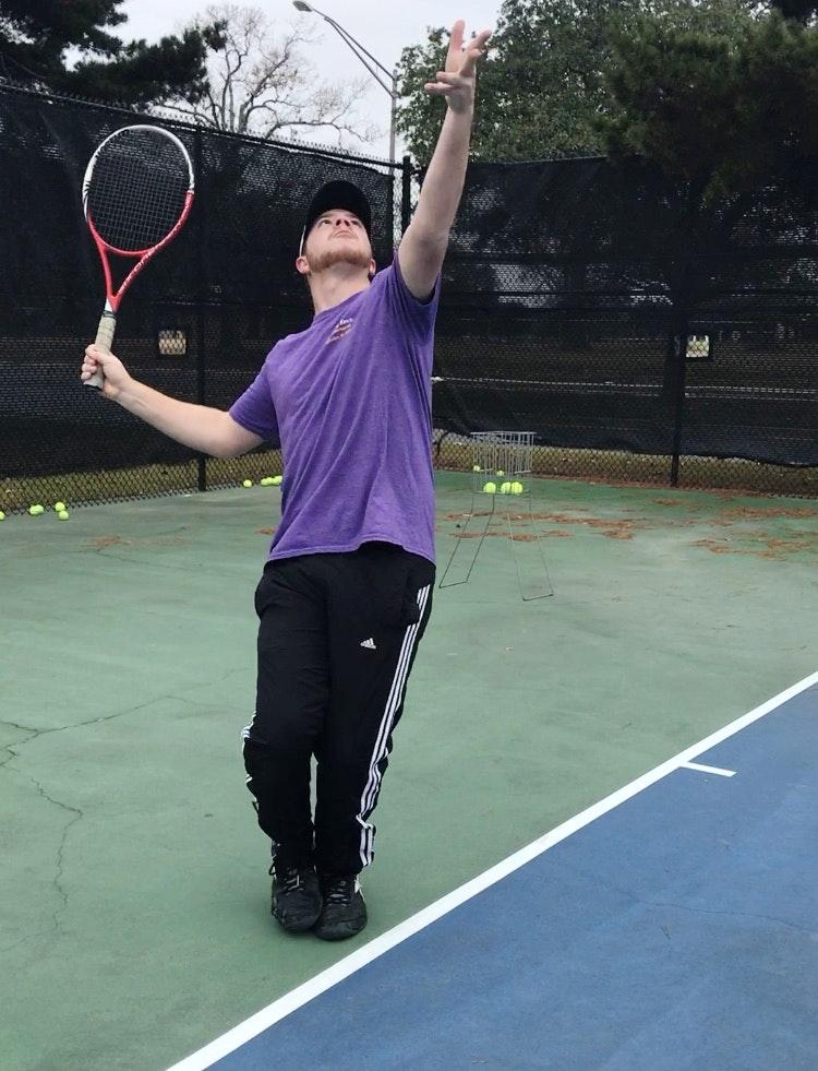 Connor C. teaches tennis lessons in Denham Springs, LA