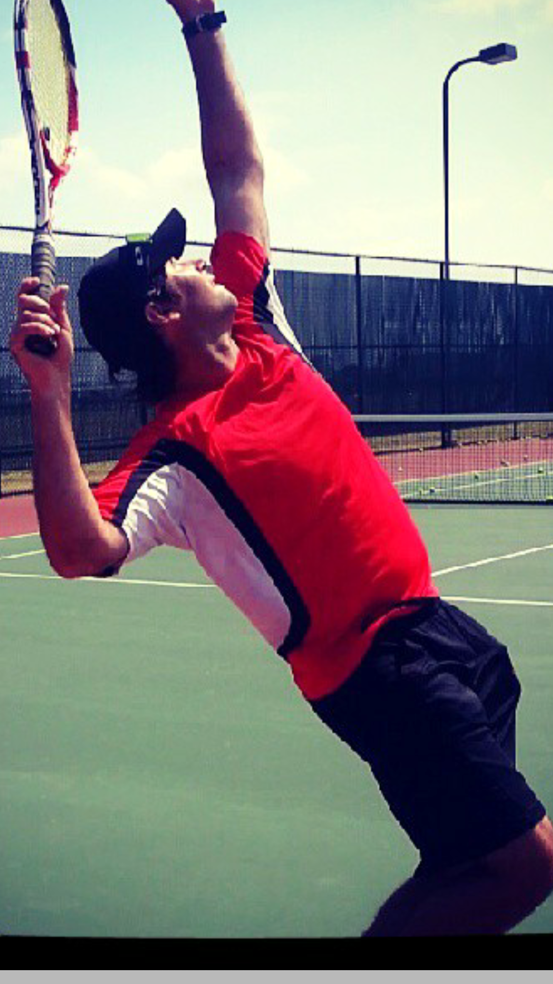 Andres I. teaches tennis lessons in Allen, TX