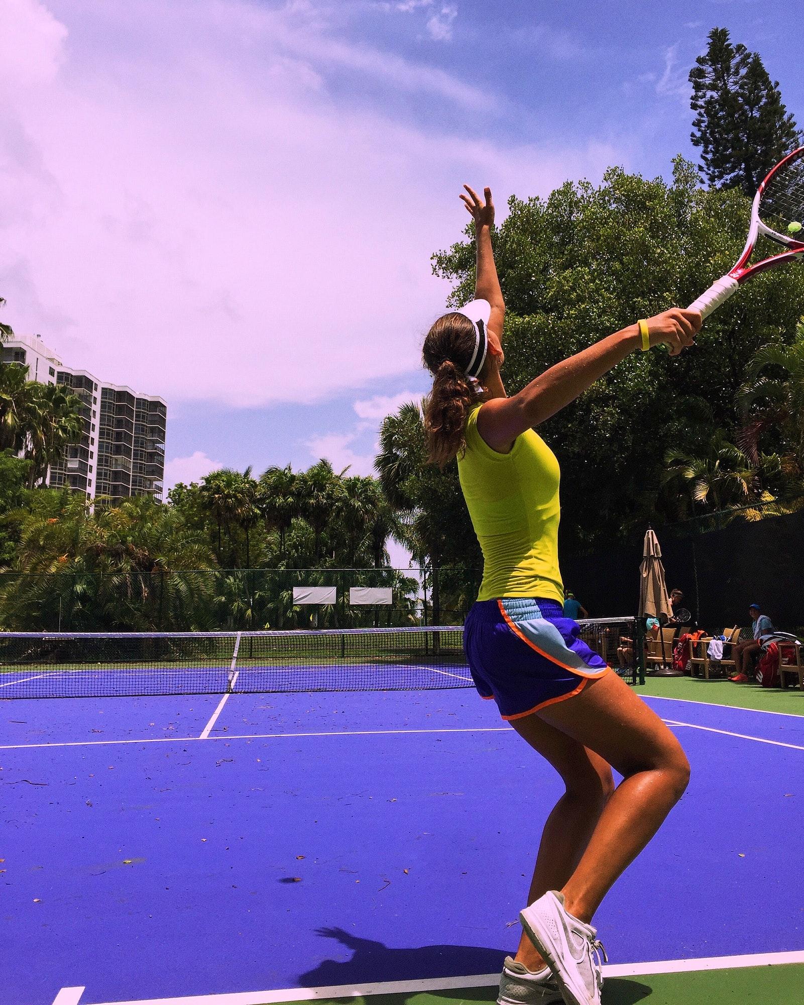 Arina S. teaches tennis lessons in Sunny Isles Beach, FL